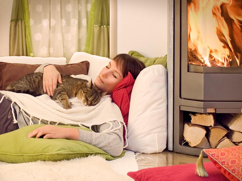 Holzofen für wohlige Wärme