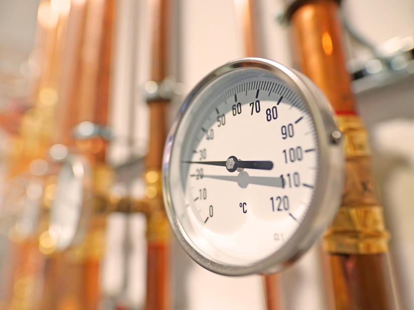 Vorbereiten auf die Heizperiode: Wasserdruck prüfen