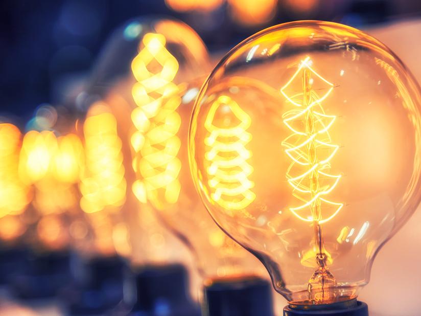 Elektrizität hält Einzug in den Alltag