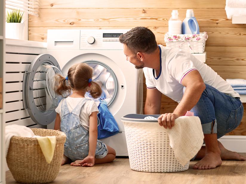 Warmwasser für die Waschmaschine