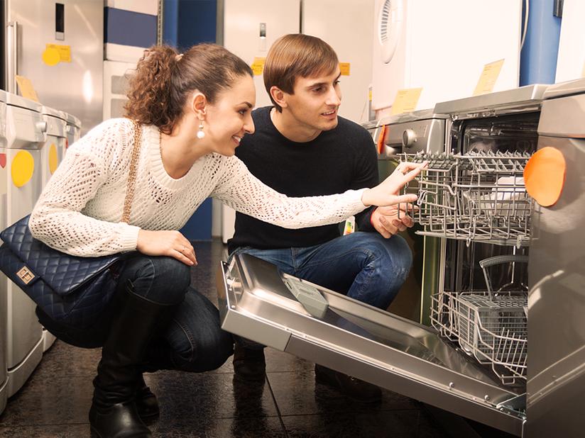 Warmwasser-Anschluss für Wasch- und Spülmaschine