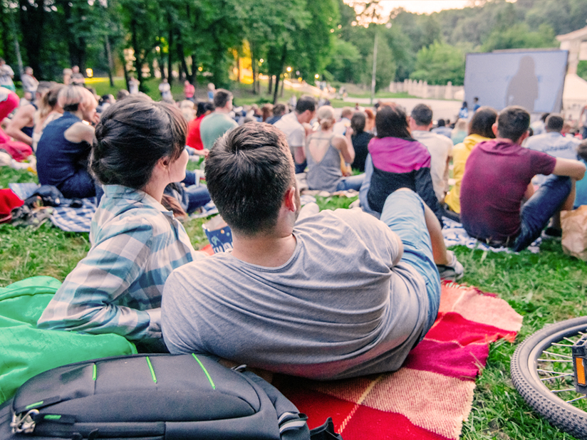 Kino im Grünen genießen