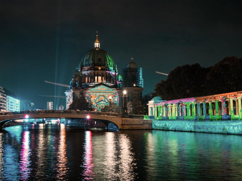 Lichtkunst-Festivals: Berlin, Essen und Frankfurt