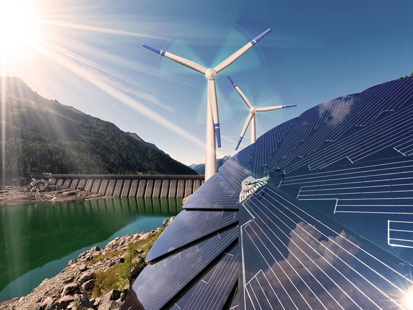 Ökostrom besteht vollständig aus sauberer Energie