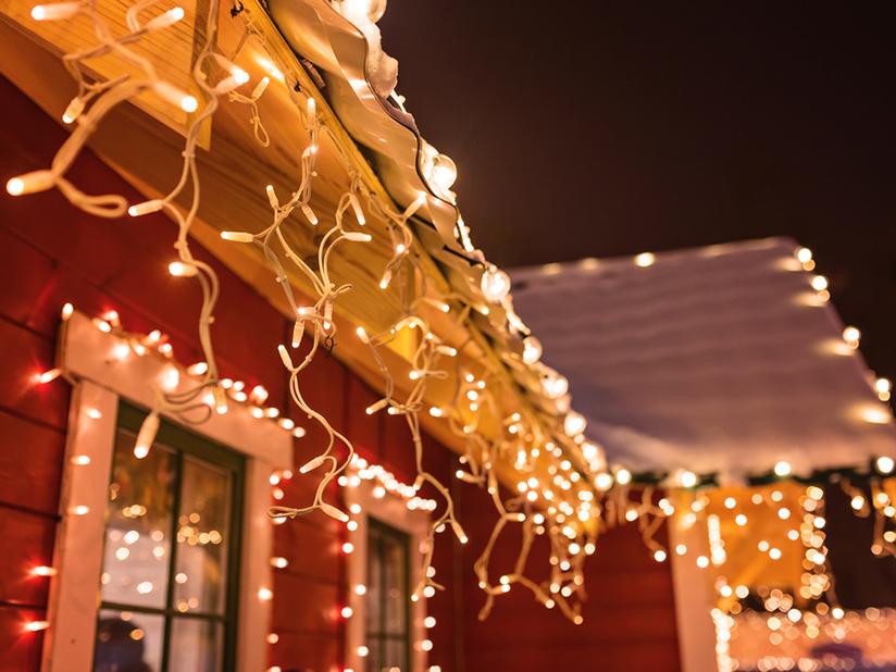 Mythos 1: Weihnachtsbeleuchtung darf die ganze Nacht hindurch blinken