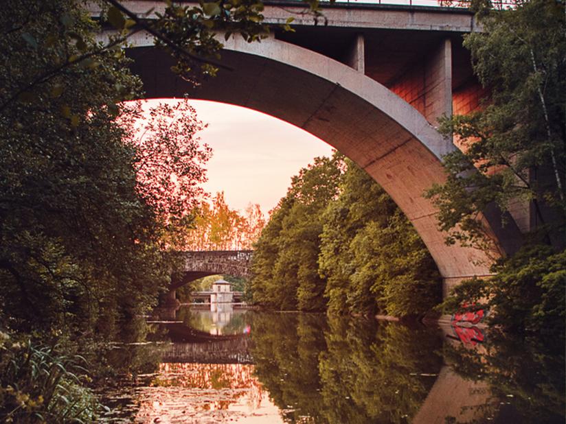 Die Oker und ihre Brücken