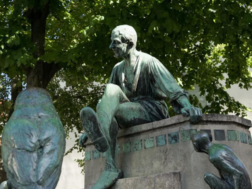 Eulenspiegelbrunnen – Erinnerung an einen Streich