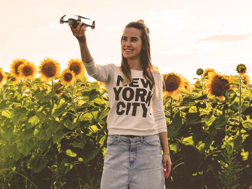 Die Mini-Selfie-Drohne