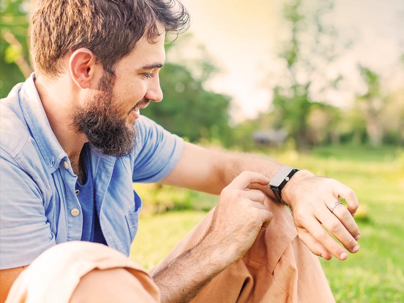 Smartwatch mit unendlicher Akkuladung