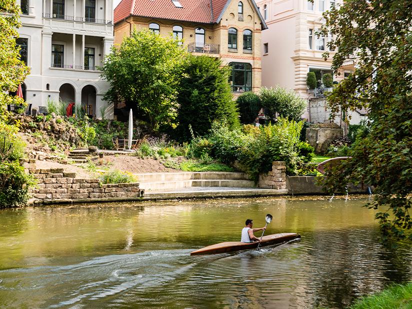 Kanufahren für Braunschweig-Entdecker rund um die Stadt
