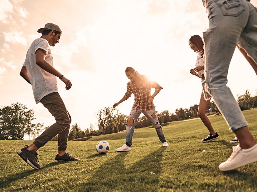 Mit Fußball lässt sich Strom erzeugen