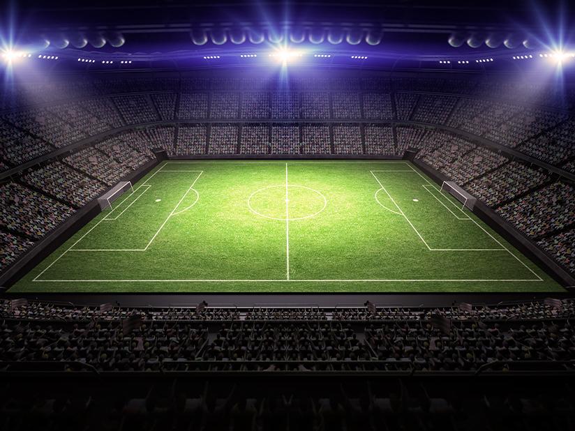 So viel Strom verbraucht ein Fußballstadion