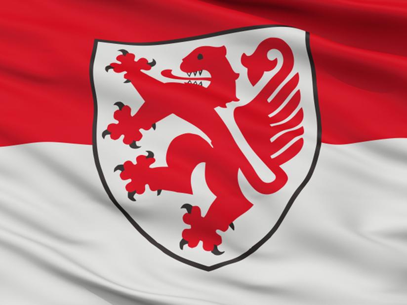 Der Braunschweiger Löwe im Braunschweiger Wappen